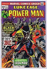 Luke Cage, Power Man #17 Signed by Len Wein w/COA 1st Power Man Title Book 1973