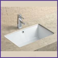 Undermount Ceramic Basin Rectangular Design 530w x 340d x 170hmm