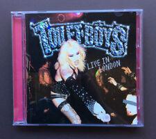 TOILET BOYS Live In London CD EX+ Condition 2003 Glam Punk Rock Enhanced 12 Trks