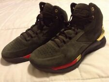 Under Armour UA Curry 1 Lux Mid Suede Basketball Shoes Men's - Size 9