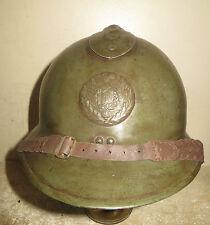 Rare casque Adrian de l' Intendance pour un Officier, modèle 26, France 1940.