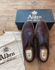 Chaussure de prestige Alden : Alden Kudu Horween Leather Long Wing Blucher