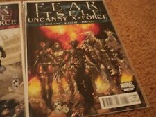 Fear Itself: Uncanny X-Force #1 - 3 complete series bagged and boarded since new