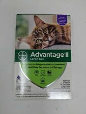 Advantage II Flea Spot Treatment for Cats over 9 lbs - 6month Supply