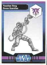2009 Star Wars Miniatures Ja Yuuzhan Vong Ossus Guardian Stat Card Only