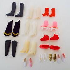 Barbie Footwear Collection Vintage Boots Shoes Roller Skates 28 Piece Estate Lot