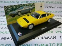 MAS5 voiture 1/43 LEO models : MASERATI collection : KHAMSIN  1973