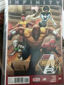 MIGHTY AVENGERS (2013) #1 - Marvel Now! - Infinity - New Bagged