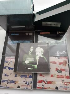 THE CHARLATANS - LTD EDITION UP TO OUR HIPS CD BOX SET, 4 SINGLES & ALBUM