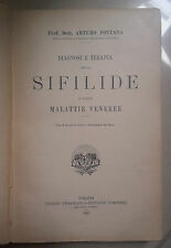 DIAGNOSI E TERAPIA DELLA SIFILIDE E DELLE MALATTIE VENEREE 1924