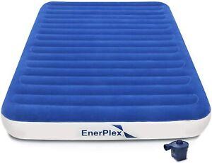 EnerPlex Luxury Series Queen Air Mattress Wireless Pump With Fast Inflation