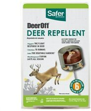 SAFER BRAND DEER OFF S5600 / 5600 All Season Deer Repellent 6 Count  NEW!