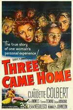 THREE CAME HOME 1950 Drama War Movie Film INSTANT WATCH
