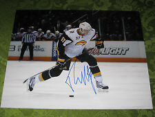TYLER MYERS AUTOGRAPHED AUTO BUFFALO SABRES NHL 11X14 PHOTO NHL RISING STAR****