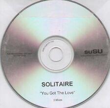 SOLITAIRE - You Got The Love (3 Mezclas) - 2005 Susu - CD, Maxi-Single