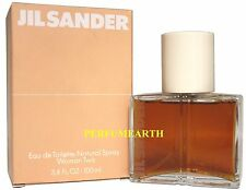 Woman Two By Jil Sander 3.3/3.4oz. Edt Spray For Women New In Box
