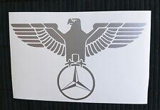 adesivo Mercedes auto aquila vetro vinile vinyl sticker decal car eagle classe
