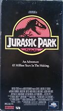 Jurassic Park (VHS, 1997) Sam Neill, Laura Dern, Jeff Goldblum [science-fiction]