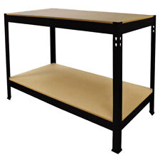 Work Bench Garage Table Metal Storage Shelving DIY Tools Heavy Duty Workbenches
