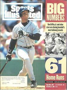 Sports Illustrated June 6 1994 Ken Griffey Jr Seattle Mariners 61 Home Runs