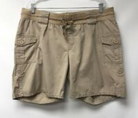 Oh Baby By Motherhood Womens Size XL Shorts Beige