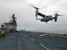 Military Air Craft Chopper Navy helicóptero V22 Osprey Uss OIV Jima Cartel bb907a
