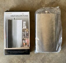 New-Open Box Berkshire Vintage Classic Stainless Steel Half Gallon Flask 64 oz