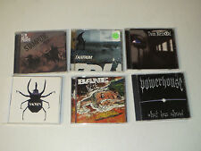 Hardcore/Punk (6 CD LOT)Tantrum / Saosin / Bane / Few And The Proud / Powerhouse