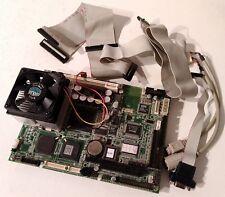 Advantech PCM-9574 REV.A3 Socket 370 Industrial Mainboard /w PIII CPU and Memory