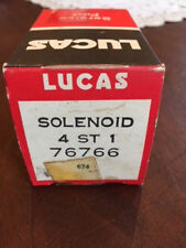 NOS LUCAS STARTER SOLENOID  SWITCH #76766 (SRB325) TR250 TR5 TR6(early) 4 ST
