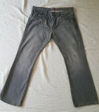 Levis RED Collection Distressed Gray Jeans Size 36x30