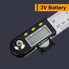 "Digital 2 in 1 Angle Finder Guage Meter Ruler Protractor Goniometer 8"" 360°B4D"