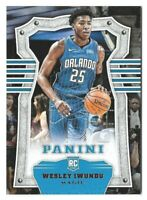 Wesley Iwundu 2017-18 Panini Basketball Rookie #289 Orlando Magic Chronicles RC