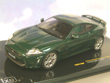 EXCELLENT 1/43 IXO DIECAST 2010 JAGUAR XKR-S IN BRITISH RACING GREEN MOC138