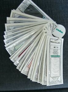 Lot of 24 Madeira Silk Stickseide Embroidery Floss assorted colors new packs