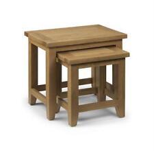 Wood Veneer 2 Modern Nested Tables