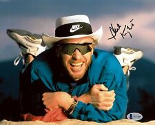 PHIL KNIGHT SIGNED AUTOGRAPHED 8x10 PHOTO NIKE FOUNDER VERY RARE BECKETT BAS