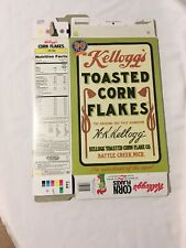 Kelloggs TOASTED CORN FLAKES 90Th Anniversary Cereal Box For Decor