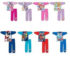 Boys Girls Kids Character Disney Nightwear Childrens Pyjamas Pjs Ages 1-5 Years