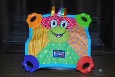 NUBY Multicolour Frog Comforter / Hug Toy