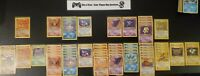 🦴 FOSSIL SET 🦴 Pokémon Collection WOTC Lot ( Holo Rare ) OLD VINTAGE CARDS!