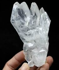 Perfect stalactite white Calcite palm style Wenshan Yunnan China CM520570