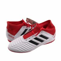 Adidas Unisex Kids Predator Tango 18.3 Soccer Shoes Red Lace Up CP9040 5 New