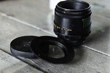 Vintage Lens HELIOS 44-2  2/58MM LENS, M42 MOUNT+for Canon