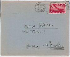 47322 - ITALIA REPUBBLICA - Storia Postale -  10 Lire POSTA AEREA su  BUSTA 1948