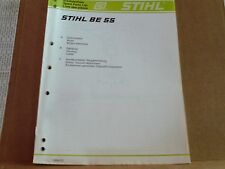 Stihl Ersatzteilliste Stihl 55 1994-01