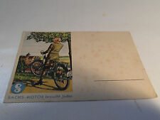 alte Karte Postkarte Fichtel & Sachs 98 ccm 98er  Nr. 1 .