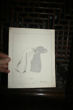 VICTORIAN PLATE  SHADOW HAND FOR EAGLE    ABOUT A 4 SIZE  ORIGINAL OLD !