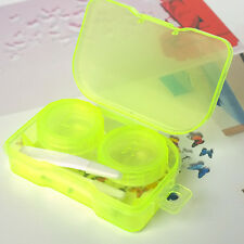 Goody Transparent Pocket Contact Lens Case Travel Kit Easy Take Container Holder