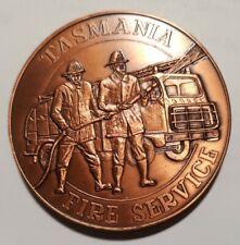 1983 • Medal • Tasmania Fire Service • Hobart Fire Brigade Centenary
